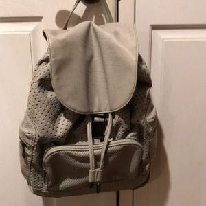 Grey top shop backpack